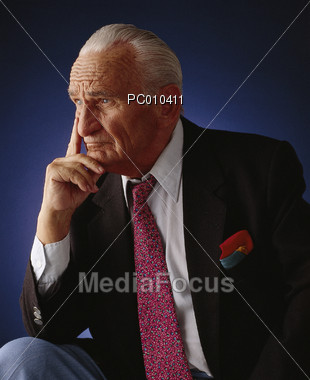 serious senior in business suit pc010411 Keywords: professionals old male retired people business formal concerned ...