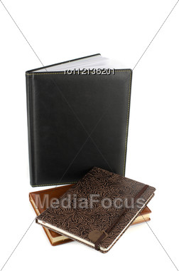 Set Of Business Book Stock Photo