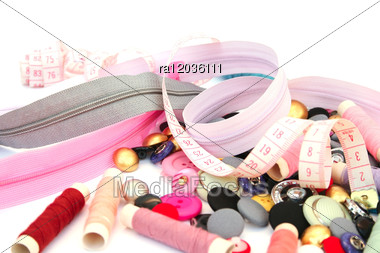 Sewing Set Stock Photo