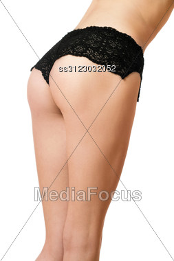 Sexy Curves Of Young Woman. Stock Photo