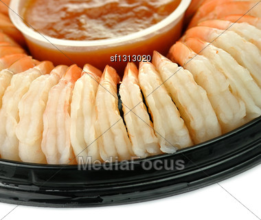 Shrimps , Close Up Stock Photo