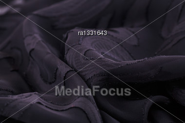 Silk Cloth Texture As A Background Stock Photo