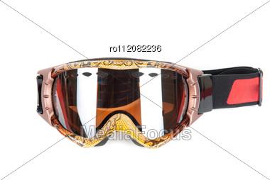 Skier Mask Stock Photo
