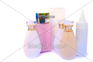 Skin Care Cosmetics Stock Photo