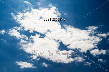 Sky And Clouds Background 1 Stock Photo