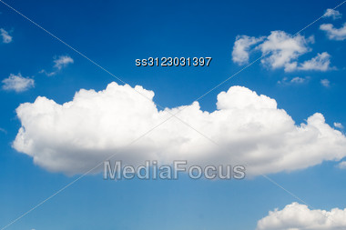 Sky And Clouds Background 3 Stock Photo