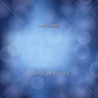 Sky Blurred Light Background. Abstract Blue Pattern Stock Photo