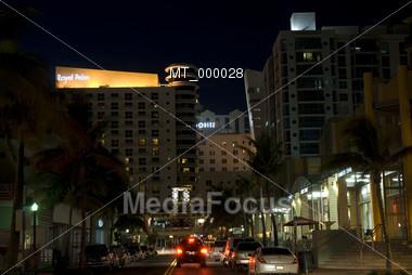 Southbeach, Miami FL, USA Stock Photo
