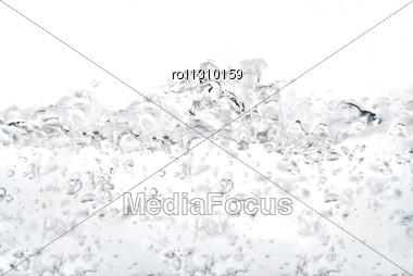 Splashing Of Water Stock Photo