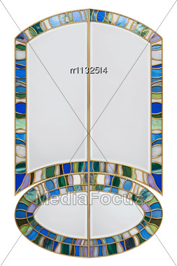 Stained Glass Component Stock Photo