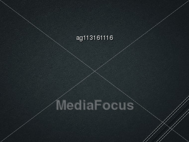 Stitched Black Leather Background. Useful As Texture Stock Photo