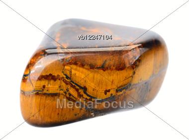 Stone Tiger's Eye Stock Photo