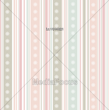 Strip Pattern, Pastel Colors. Vector Illustration Stock Photo