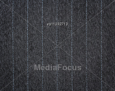 Striped Fabric Texture. Clothes Background Stock Photo