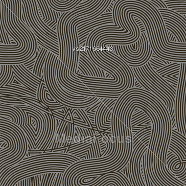 Striped Line Background. Gray Wave Line Pattern Stock Photo