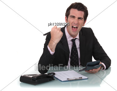 Successful Accountant Stock Photo