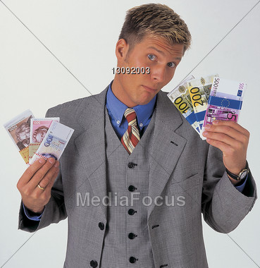 Successful Business Man Stock Photo