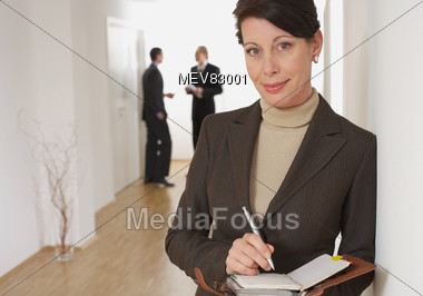 Successful Business Woman Stock Photo