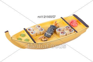 Sushi Ship Stock Photo