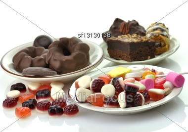 Sweets Assortment Stock Photo