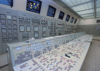 Technology - Nuclear Power Station Stock Photo