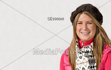 Teenager Girl Stock Photo