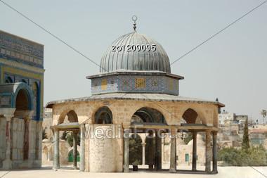 Temple Mount In Jerusalem In Israel Stock Photo