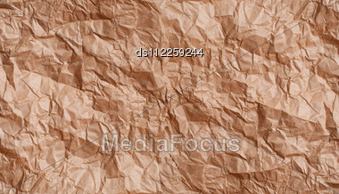 Texture Crumpled Paper Stock Photo