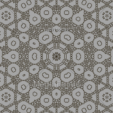 Texture On Grey. Element For Design. Ornamental Backdrop. Pattern Fill. Ornate Floral Decor For Wallpaper. Traditional Decor On Background Stock Photo