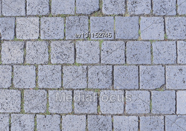 Texture Of Cobblestone Background In The City Stock Photo
