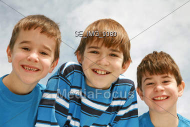 Three Brothers Stock Photo
