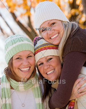 Three Sisters Stock Photo