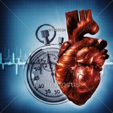 Time To Think About...Abstract Health And Medical Backgrounds Stock Photo