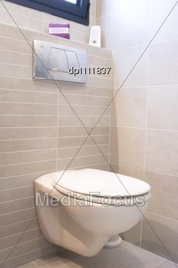 Stock photo toilet in home new design image dp1111837 - Latest toilet bowl design ...