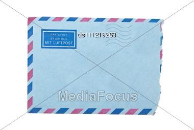 Torn Envelope Stock Photo