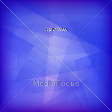 Transparent Line Background. Abstract Blue Line Pattern Stock Photo