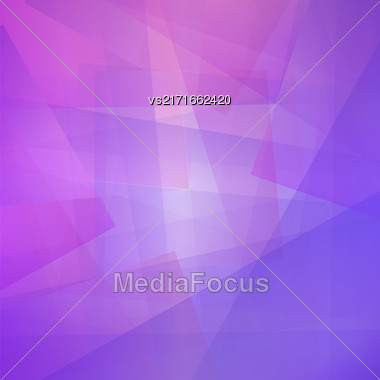 Transparent Line Background. Abstract Blue Pink Line Pattern Stock Photo