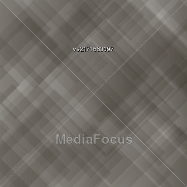 Transparent Square Background. Abstract Grey Square Pattern Stock Photo