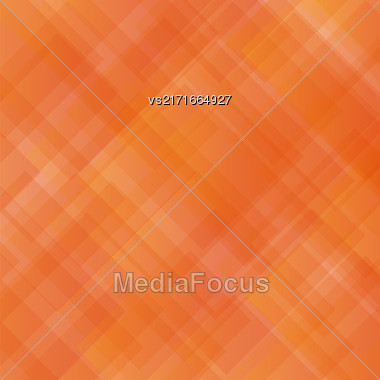 Transparent Square Background. Abstract Orange Square Pattern Stock Photo