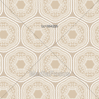 Tribal Art Ethnic Seamless Pattern. Boho Print. Ethno Ornament. Cloth Design, Wallpaper, Wrapping Stock Photo