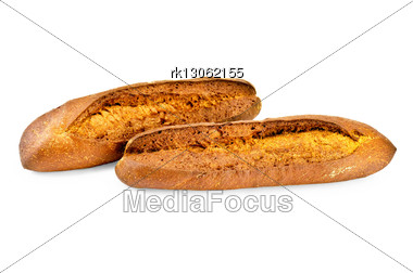 Two Loaves Of Rye Bread Stock Photo