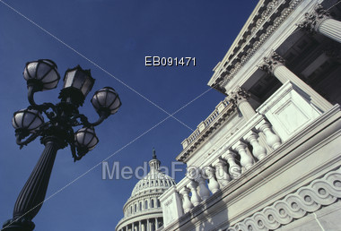 U.S. Capitol building in Washington, DC Stock Photo