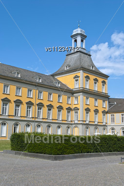 University In The Center Of Bonn, Germany Stock Photo