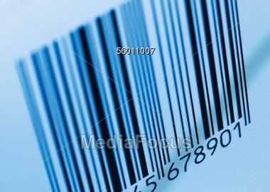 UPC Barcode Stock Photo