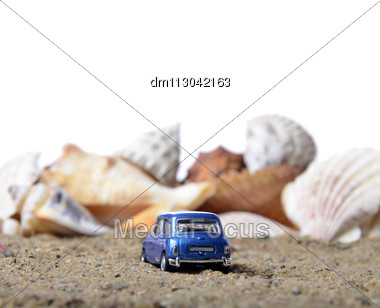 Vacation By The Sea, Conceptual. Place For Your Text. Stock Photo