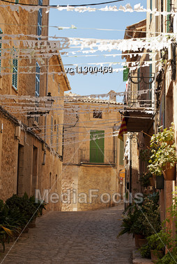 Valldemossa , Village And Municipality On The Island Of Majorca, Part Of The Spanish Autonomous Community Of The Balearic Islands Stock Photo