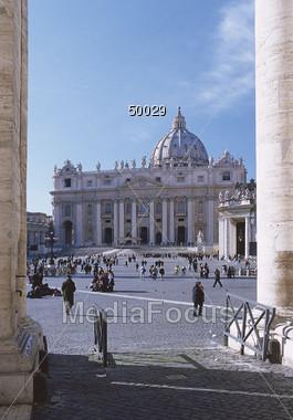 Vatican, St. Peter Stock Photo