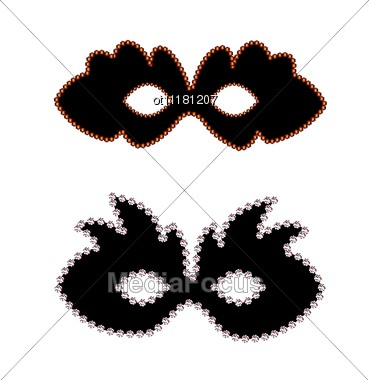 Carnaval Masks Stock Photo