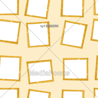 Frames On Brown Background Stock Photo