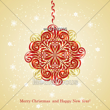 Greeting card merry christmas happy new year greetings stock image greeting card with merry christmas and happy new year greetings and fir tree m4hsunfo